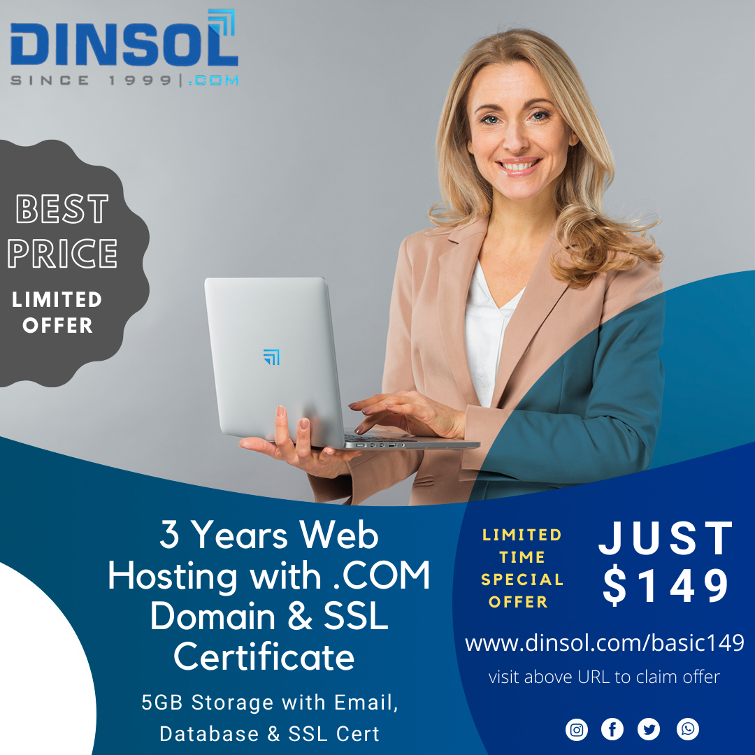 Dinsol Web Hosting Coupon